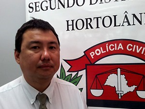 O delegado Eduardo Tokunaga (Foto: Fernando Pacífico / G1 Campinas)
