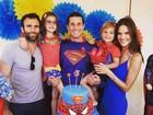 Alessandra Ambrósio comemora aniversário do filho