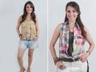 Carla Casarim abre o guarda-roupa e mostra seus looks favoritos