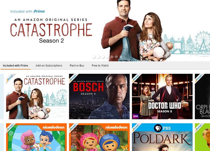Conheça o Prime Video, plataforma de streaming da Amazon que concorre com a Netflix (Foto: Reprodução/Paulo Alves)