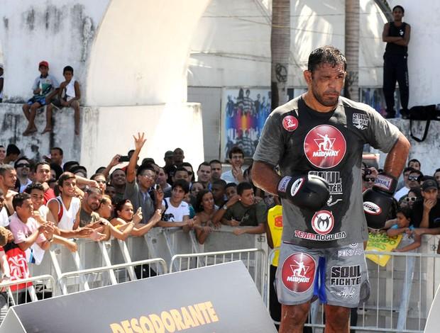 Minotauro treino aberto UFC Rio III (Foto: André Durão / Globoesporte.com)