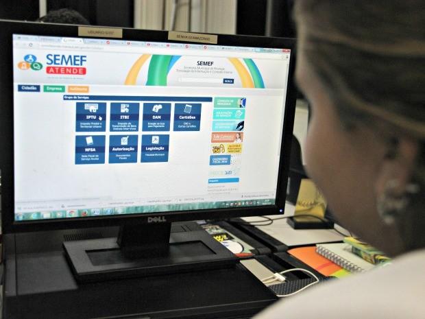 Novas datas de vencimento estão no site da Semef (Foto: Sérgio Rodrigues/ G1 AM)