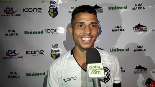 Responsável e mais maduro, Charles chega ao Rio Branco para a Copa Espírito Santo