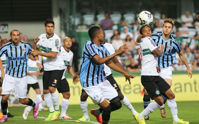 Coritiba x Grêmio (Foto: Joka Madruga / Ag. Estado)