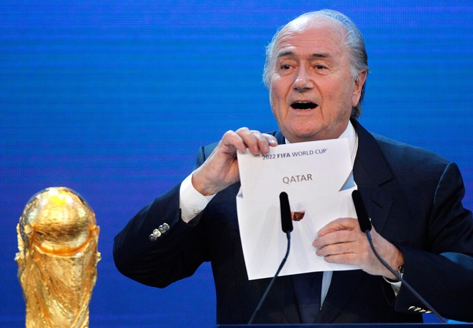 Blatter Fifa catar copa do mundo 2022 (Foto: AP)
