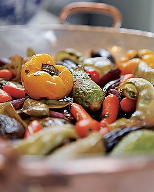 Minilegumes ao forno (Foto: Evelyn Müller/Editora Globo)