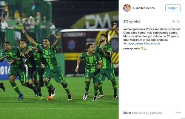 Maitê Proença lamentou a tragédia (Foto: Reprodução/Instagram)