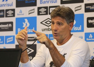 Renato Portaluppi Grêmio (Foto: Eduardo Moura/GloboEsporte.com)