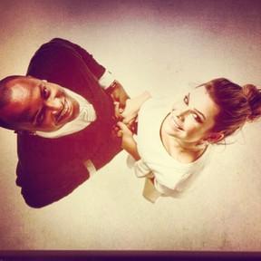 Thiaguinho e Fernanda Souza (Foto: Reprodução/Twitter)
