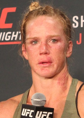 Holly Holm Coletiva UFC Chicago (Foto: Marcelo Barone)