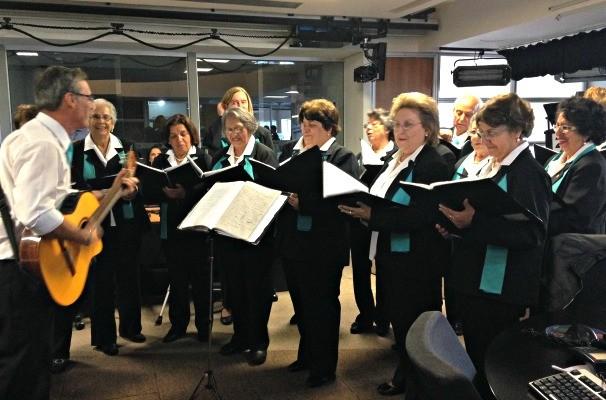 Grupo Vocal Encanto (Foto: Divulgação/RBS TV)