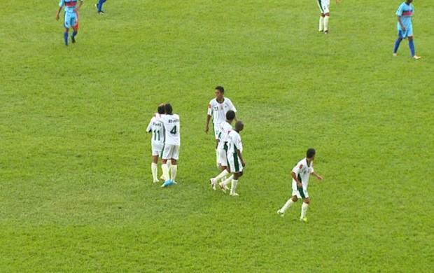 Copa SP: União São João x Americano-MA (Foto: Marlon Tavoni/ EPTV)