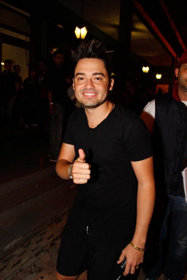 Munhoz, da dupla com Mariano (Foto: Thiago Duran / AgNews)