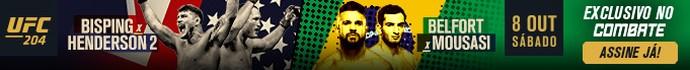 Header UFC 204 (Foto: Editoria de arte)