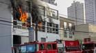 Incêndio atinge prédio na Zona Sul de SP (Marco Ambrósio/Estadão Conteúdo)