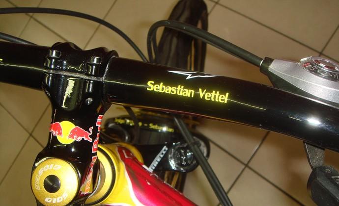 Bike Sebastian Vettel F1 (Foto: Eduardo Ishikawa/Acervo)
