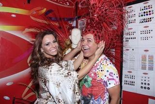 David  Brazil e Viviane Araújos (Foto: Reprodução/Reprodução)