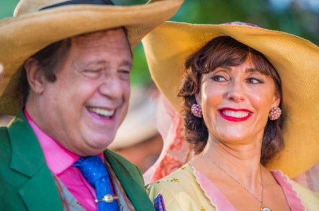Antonio Fagundes e Christiane Torloni em 'Velho Chico' (Foto: TV Globo)