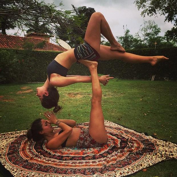 Paula Morais e amiga (Foto: Instagram / Reprodução)