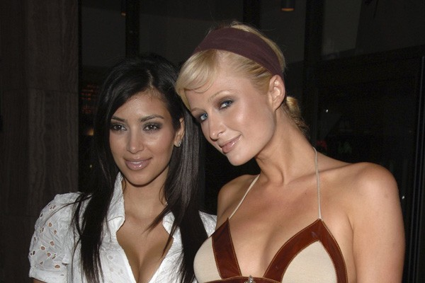 Kim Kardashian e Paris Hilton (Foto: Getty Images)