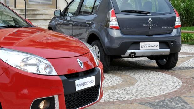 Veja fotos do Novo Renault Sandero