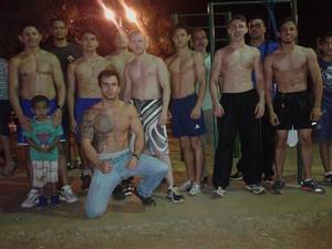 grupo SBARTAS Uberlândia Street Workout (Foto: André Passos/Arquivo Pessoal)