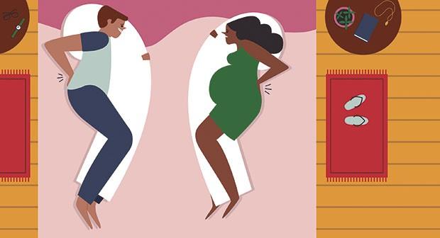 ilustração pai grávido (Foto: Paola Saliby)