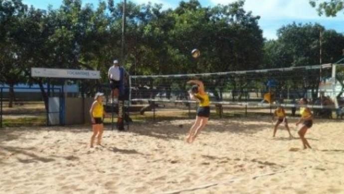 Última etapa do Circuito de vôlei de praia 2015 (Foto: Federação Tocantinense de Voleibol\ Divulgação)