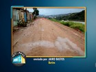 Obra inacabada prejudica moradores de bairro em Betim, na Grande BH