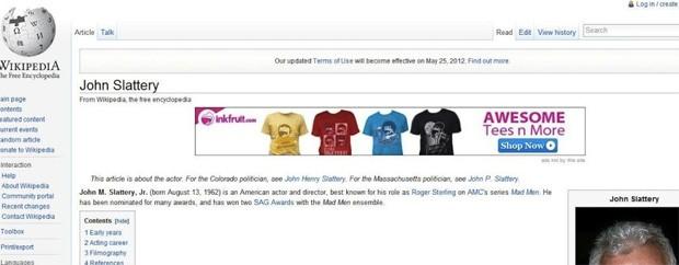 Extensão maliciosa para navegadores web está injetando anúncios na Wikipedia (Foto: Reprodução)