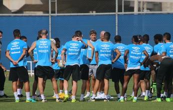 """Ainda abalado, Grêmio mantém rotina de fim de semana """"cheio"""" para decisão"""
