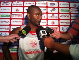 Ricardo Baiano América-RN (Foto: Matheus Magalhães/Globoesporte.com)