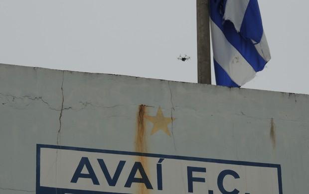 Drone Avaí (Foto: Marcelo Silva)
