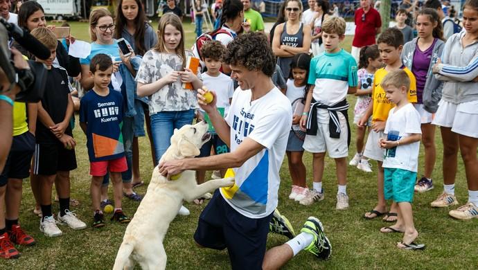 Medalha cão Guga Kuerten (Foto: Gabriel Heusi/Divulgação)