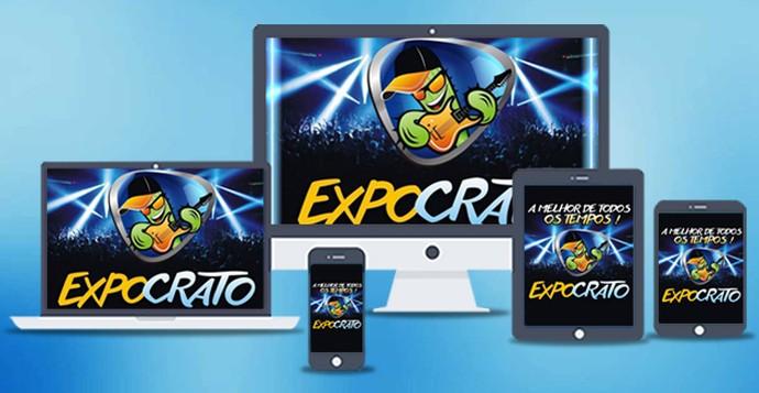 Veja os canais de comunicação do Expocrato. (Foto: Divulgação)