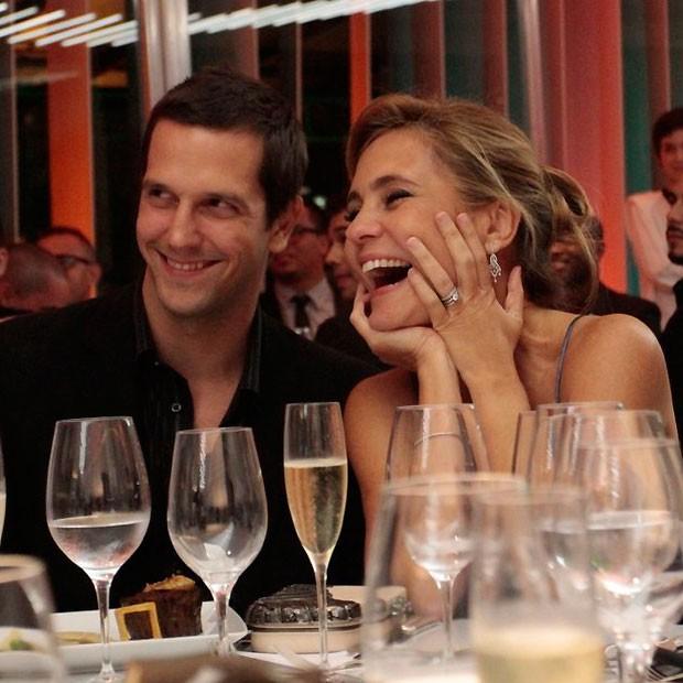 Adriana e o marido (Foto: Cláudio Andrade)