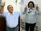 Sheila Gama vota em agência bancária de Nova Iguaçu, na Baixada
