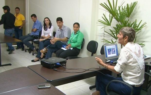Calendário esportivo é lançado em Ji-Paraná (Foto: Rondônia TV)