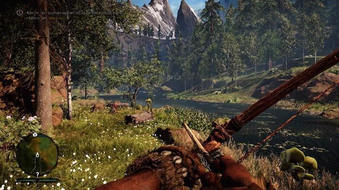 Far Cry Primal foi um dos destaques da semana (Foto: Reprodução/Victor Teixeira)