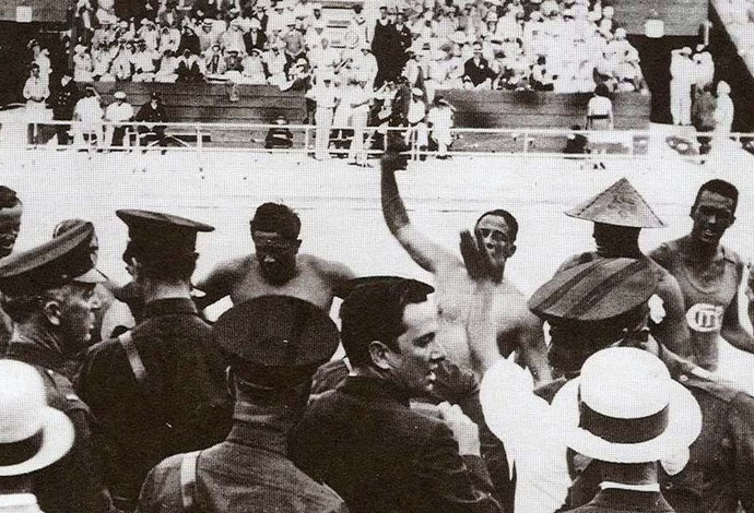 Polo Aquático 1932 (Foto: International Swimming Hall of fame)