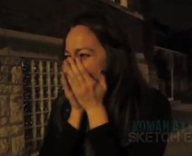 Vídeo da pegadinha já foi visto mais de 3,4 milhões de vezes (Foto: Reprodução)
