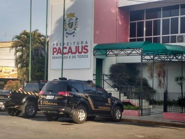 Operação que prendeu prefeito ocorreu em dezembro (Foto: PF/Divulgação)
