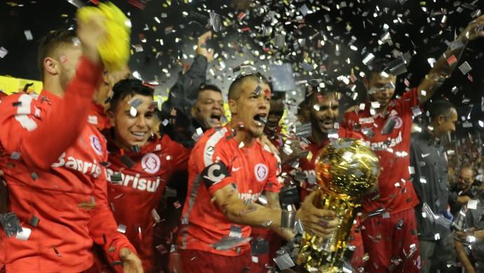 Inter São José Recopa Gaúcha (Foto: Tomás Hammes/GloboEsporte.com)