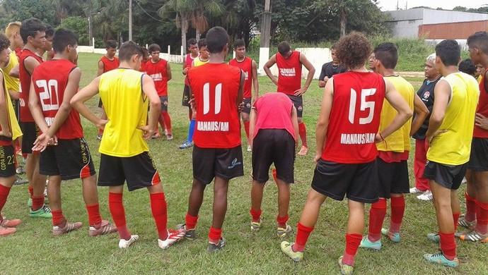 Tarumã inicia preparação para o Amazonense de Juniores (Foto: William D'angelo/Assessoria Tarumã FC)