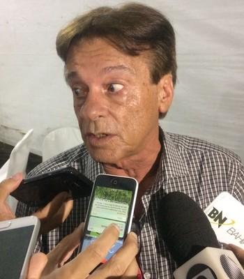 Sinval Vieira dirigente do Vitória (Foto: Ruan Melo)
