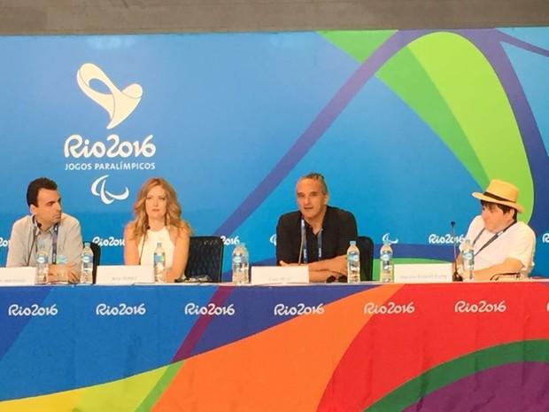 Cerimônia de abertura da Paralimpíada vai quebrar preconceitos, dizem organizadores (Foto: Cristina Boeckel/G1)