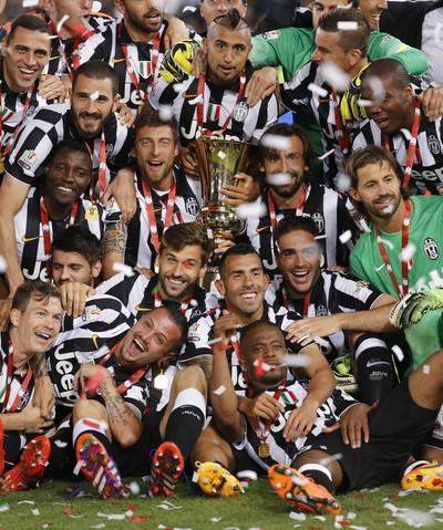 Juventus troféu Copa da Itália (Foto: Reuters)