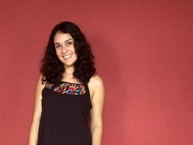 Fernanda Mendonça veio de Recife para estudar em João Pessoa (Foto: Fernanda Mendonça/Arquivo pessoal)