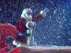 Natal em Gramado, na Serra Gaúcha, emociona com Papai Noel e até neve