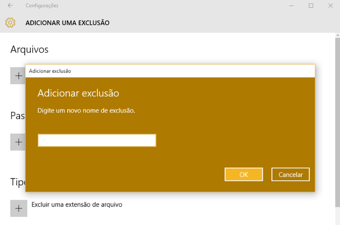 Exclua um programa do Defender ou qualquer arquivo de uma extensão específica (Foto: Reprodução/Paulo Alves)